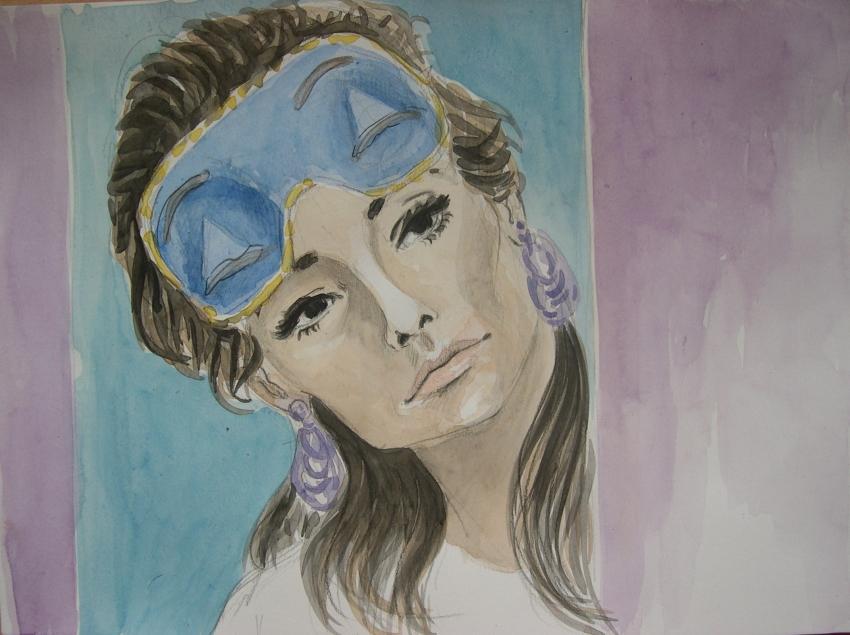 Audrey Hepburn by Garance55